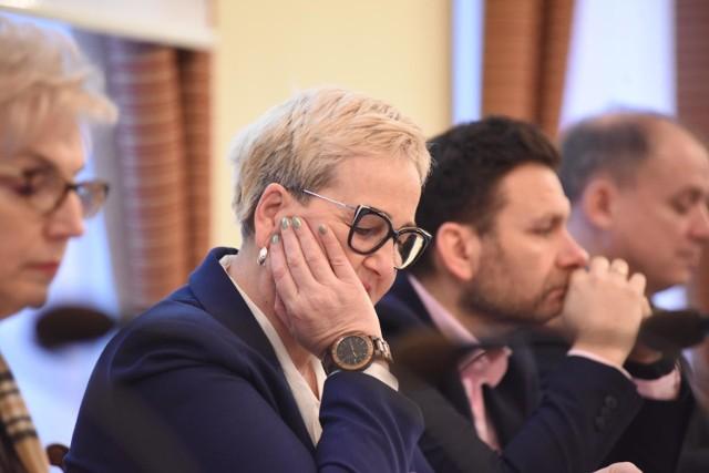 Wioleta Haręźlak, przewodnicząca sejmiku województwa