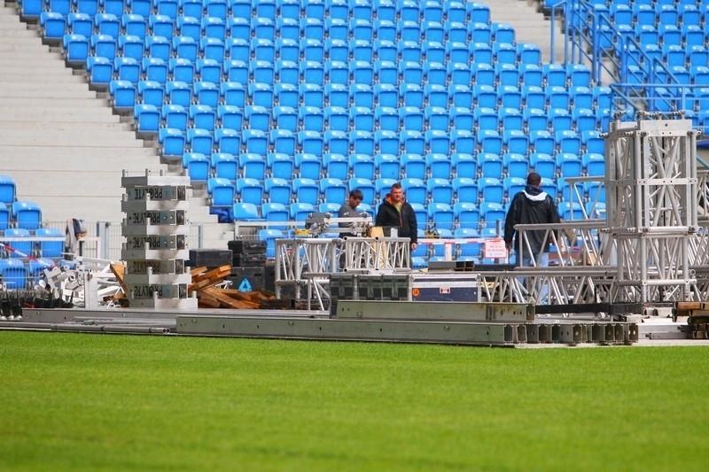 Koncert Iron Maiden już we wtorek. Zobacz jak budowana jest scena