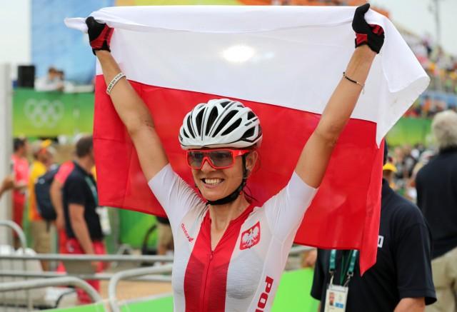 To drugi olimpijski medal Mai Włoszczowskiej, drugi srebrny.