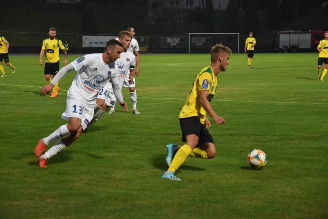 GKS Jastrzębie o utrzymanie w Fortuna I lidze walczył w Legnicy.