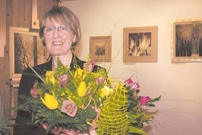 Małgorzata Kowalczyk przyznaje, że natura to źródło inspiracji i temat, który jest obszarem niekończących się poszukiwań jej artystycznej wypowiedzi Fot. Bożena Gąsienica