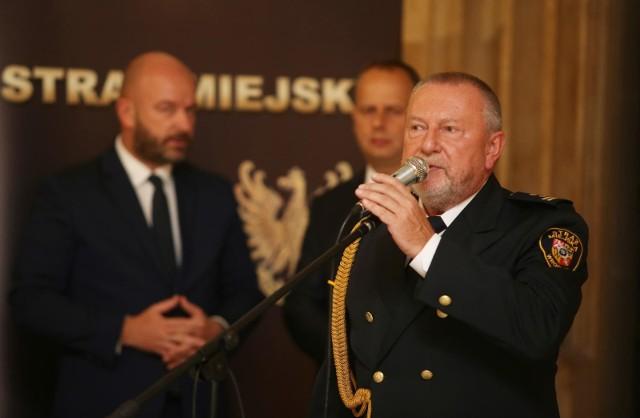 Komendant Zbigniew Słysz przejdzie na emeryturę w lipcu