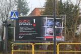 W Bydgoszczy zawisły antyfutrzarskie plakaty - żądamy zakazu działania ferm
