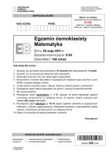 Egzamin ósmoklasisty 2021 MATEMATYKA - arkusz CKE i odpowiedzi. Jakie zadania były na egzaminie 8-klasisty? 26.05