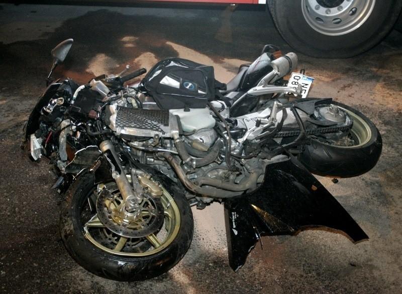 Wypadki motocyklistów w Luboniu i Poznaniu. To kierowcy samochodów wymusili pierwszeństwo?