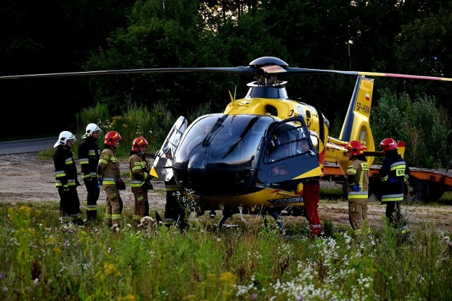 Wypadek w Jerzmanowicach