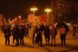 Protest kobiet w Częstochowie przeciwko wyrokowi Trybunału Konstytucyjnego w sprawie aborcji