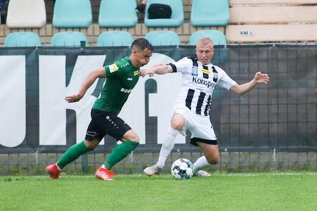 Piłkarze Sandecji przegrali na koniec i zajęli ostatecznie 10. miejsce w pierwszej lidze