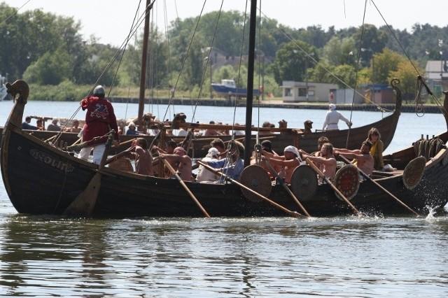 Zawody jednostek Słowian i Wikingów mają stać się tradycją festiwalu.