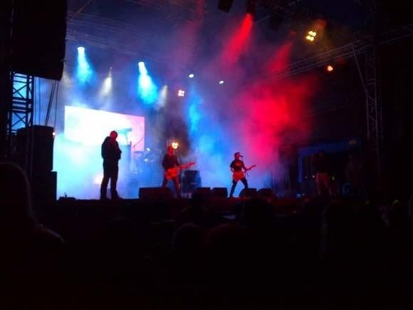 Moskwa na festiwalu Rock na bagnie 2011