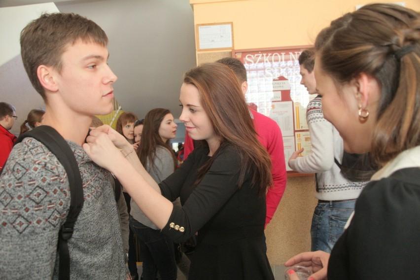 Francuzi w XXXI Liceum Ogólnokształcącym w Łodzi [ZDJĘCIA]