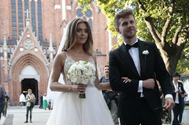 Ślub Joanny Opozdy i Antka Królikowskiego odbył się w Kościele świętego Wojciecha na warszawskiej Woli.