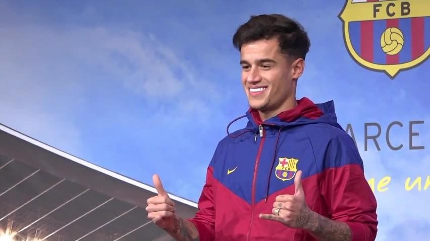 Coutinho ma już za sobą pierwsze mecze w Barcelonie