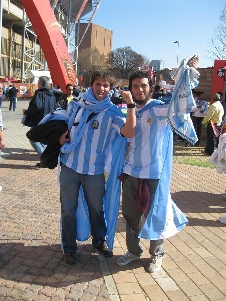 Argentyńscy kibice widzą swoją drużynę co najmniej w półfinale