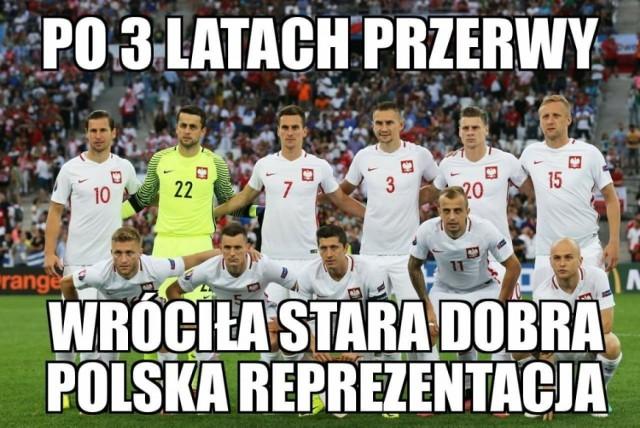 Najlepsze memy po meczu Polska-Dania