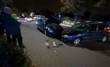 Czołowe zderzenie dwóch aut na Opolskiej. Jedna osoba ranna, ogromne korki (ZDJĘCIA)