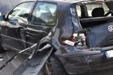 Nowy Tomyśl: Wypadek na ul. Sienkiewicza - jedna osoba została ranna [ZDJĘCIA]