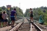 Na Moście Pilchowickim ruszyły zdjęcia do filmu. Wysadzą most?