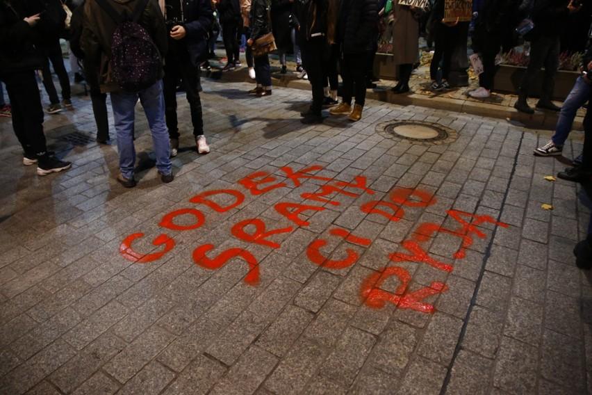 Protest kobiet w Warszawie, 28 października 2020