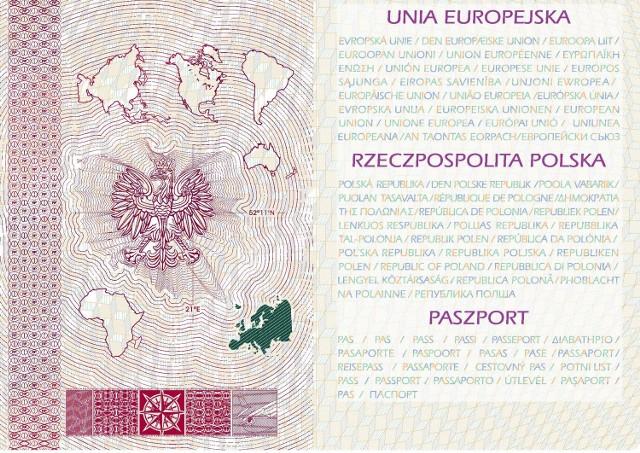 Objaśnienia danych zawartych w dokumentach paszportowych, będą teraz przetłumaczone na wszystkie języki urzędowe Unii Europejskiej.