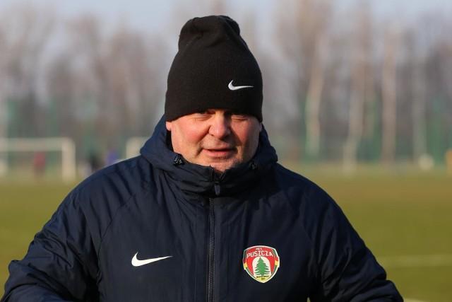 Trener Puszczy Tomasz Tułacz