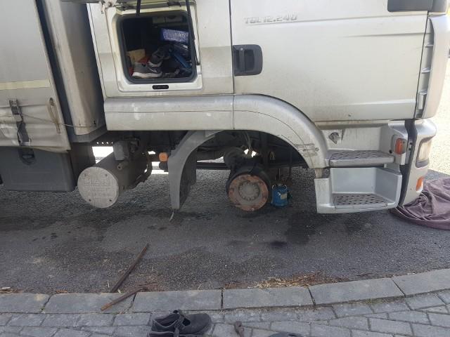 Właścicielom niesprawnych samochodów ciężarowych grożą teraz kary w wysokości 2 tysięcy złotych.