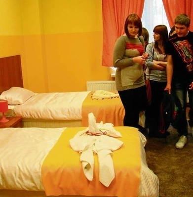 Szkoły powiatowe mają bazę do nauki usług hotelarskich Fot. Ewa Tyrpa