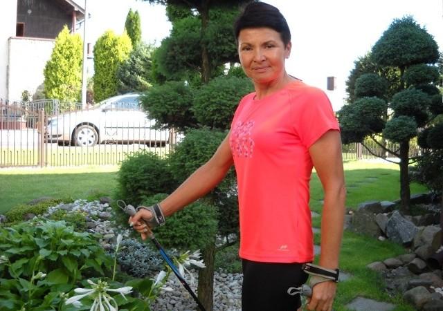 – Dzięki codziennym treningom nie choruję i bardzo  zwiększyłam wydajność organizmu – mówi  Marzena Spychała (44 lata).