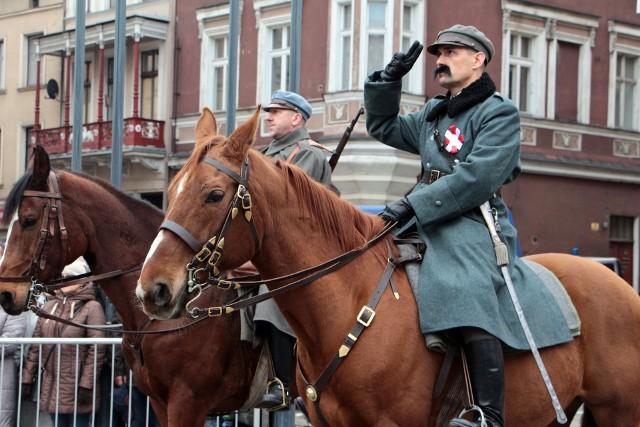 Wizyta Józefa Piłsudskiego nastąpiła w dniach 7-8 czerwca 1921 roku.