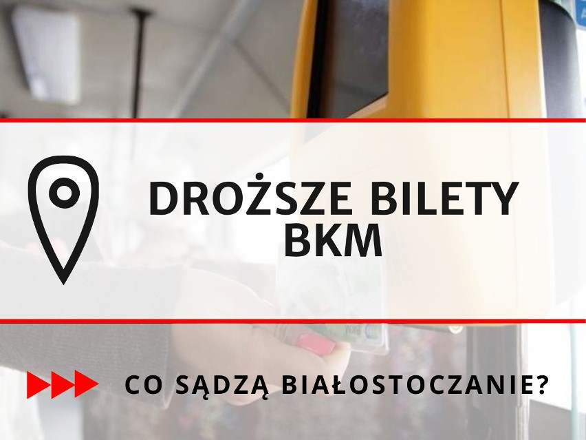Od 1 marca podrożeją bilety za przejazd Białostocką...