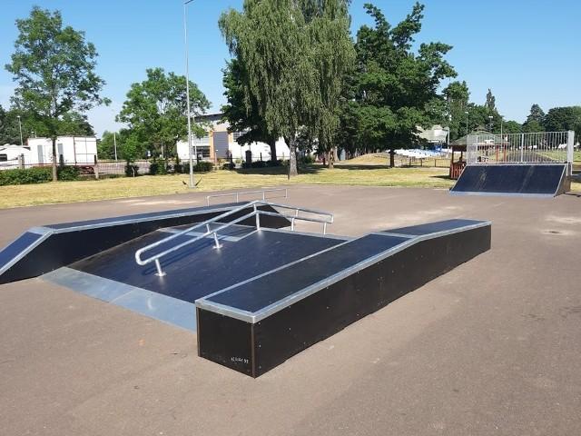 Zakończyła się budowa pierwszego etapu skateparku w Golubiu-Dobrzyniu