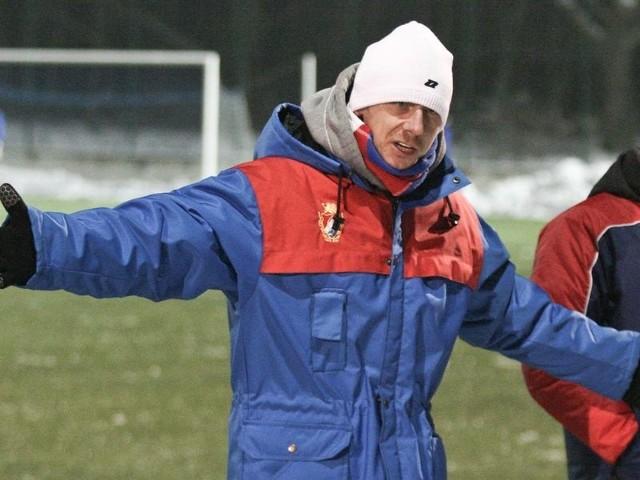 Trener Grzegorz Wódkiewicz mocno wierzy w utrzymanie zespołu w III lidze.