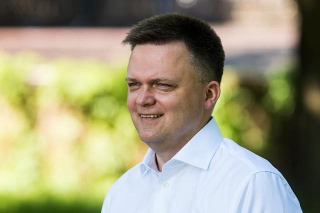 Szymon Hołownia o powrocie Donalda Tuska do polskiej polityki: Nie wrócił na białym koniu. Wrócił na piechotę