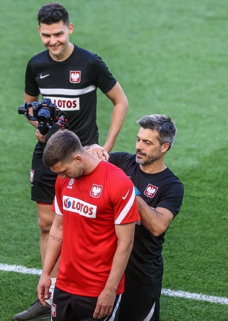 Reprezentacja Polski przygotowuje się do Euro 2020 trenując...