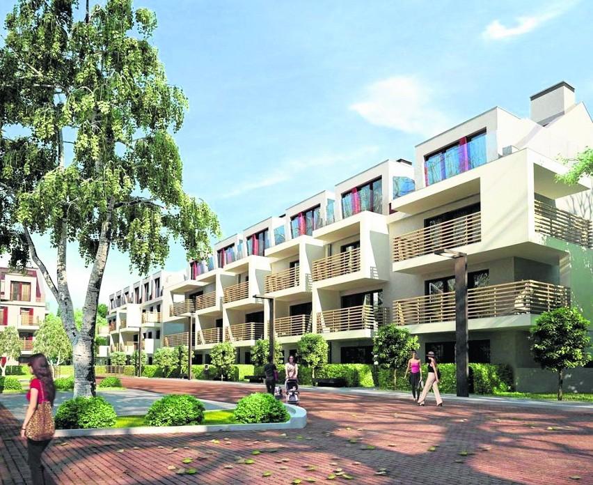 Atrakcyjna cena oferowanych mieszkań idzie w parze z wykończeniem