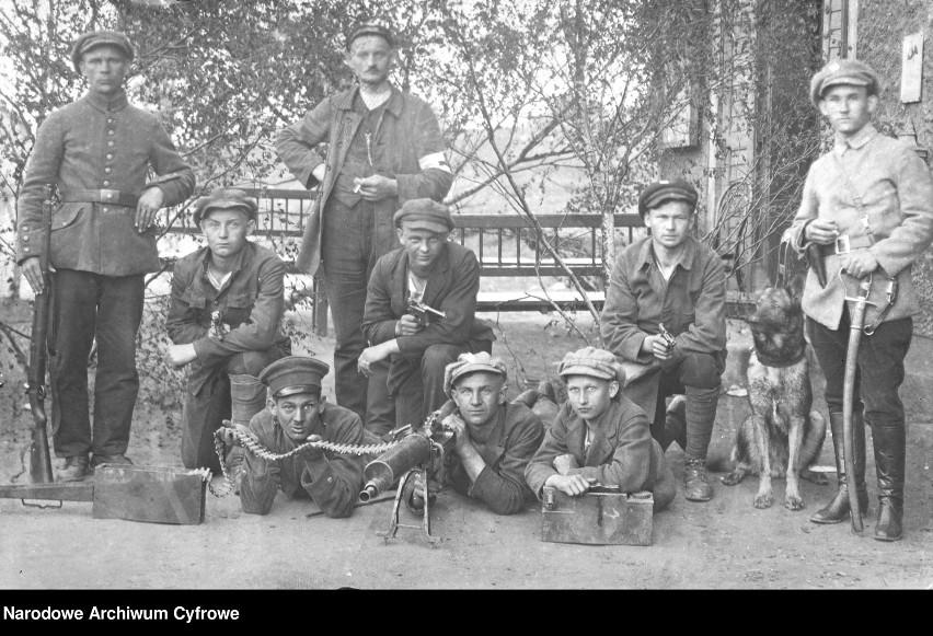 Grupa powstańców 1921