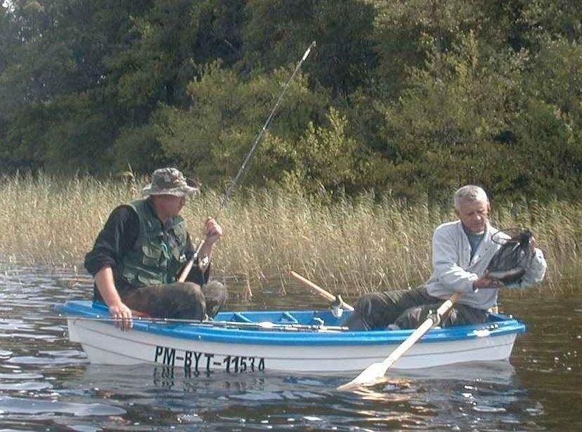 Na jeziorze Starzno wędkarze już nie mogą łowić ryb.