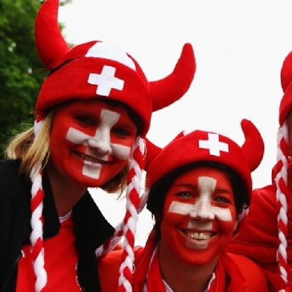 Kibice ze Szwajcarii