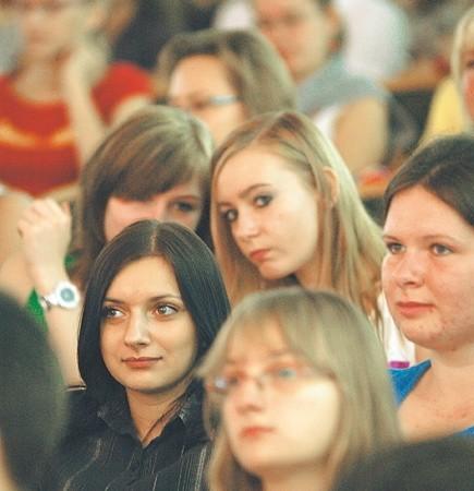 Licealiści, którzy odwiedzili Salon Maturzystów w Zielonej Górze interesowali się nie tylko egzaminami, ale i kierunkami studiów