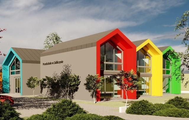 Tak ma wyglądać Przedszkole Samorządowe w Zakliczynie