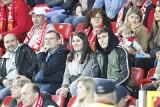 Kibice Widzewa na meczu z GKS Katowice ZDJĘCIA