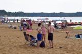 Gorąca niedziela w Sielpi. Zobacz, jak plażowicze odpoczywają na Świętokrzyskiej Ibizie [ZDJĘCIA]