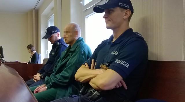 Podczas procesu Grzegorz P. milczał. Powiedział, że żałuje swojego czynu i poprosił o łagodną karę