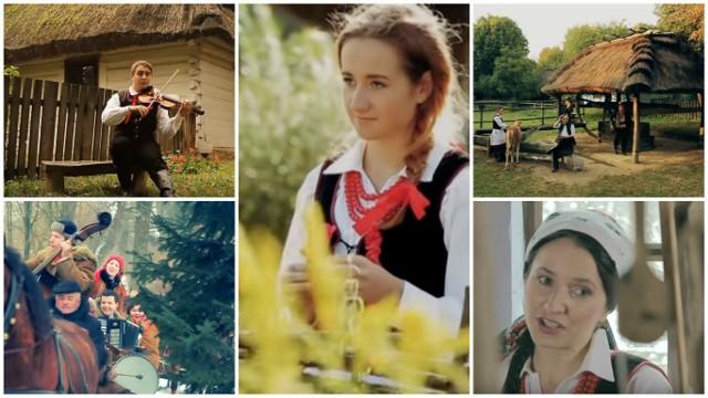 Kadry z teledysków zespołu Rokiczanka
