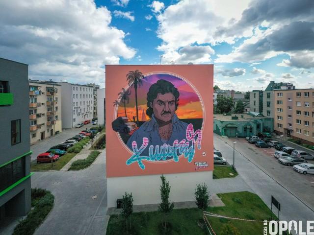 Mural Krzysztofa Krawczyk w Opolu gotowy. W sobotę oficjalne odsłonięcie