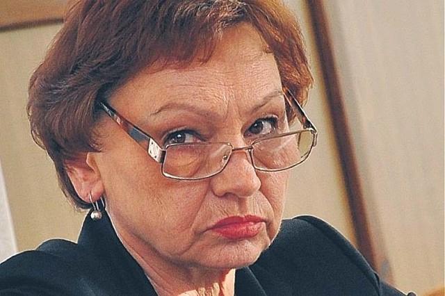 Starosta Małgorzata Tudaj. Za jej rządów jest spokojniej.