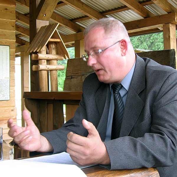 Robert Stępień, wójt Baligrodu: - Ta strategia daje nam szansę na wyjście z wieloletniego impasu.
