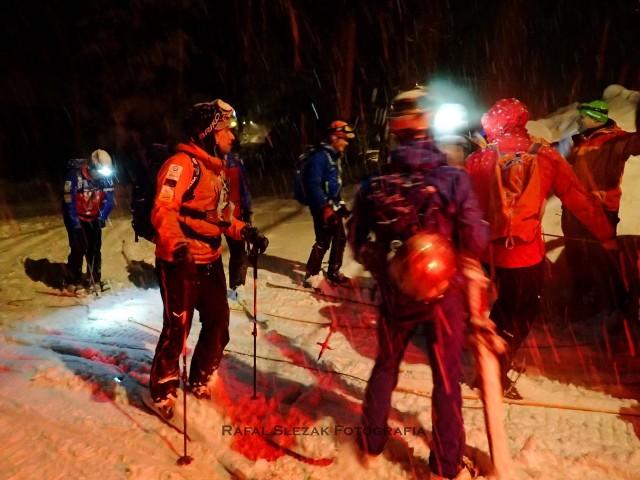 Dramatyczna akcja ratunkowa w Beskidach, turyści utknęli w rejonie Pilska