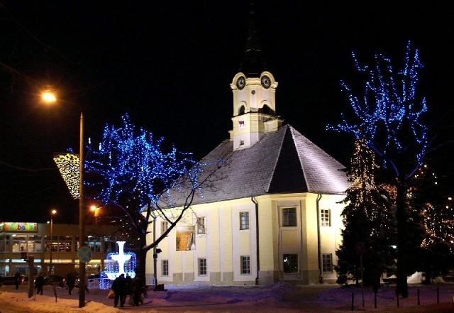 Bielsk Podlaski to drugir najładniej oświetlone miasto w Polsce