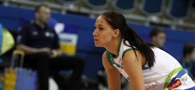 Magdalena Saad w barwach Atomu Trefla Sopot, z którym w 2012 roku zdobyła złoto mistrzostw Polski